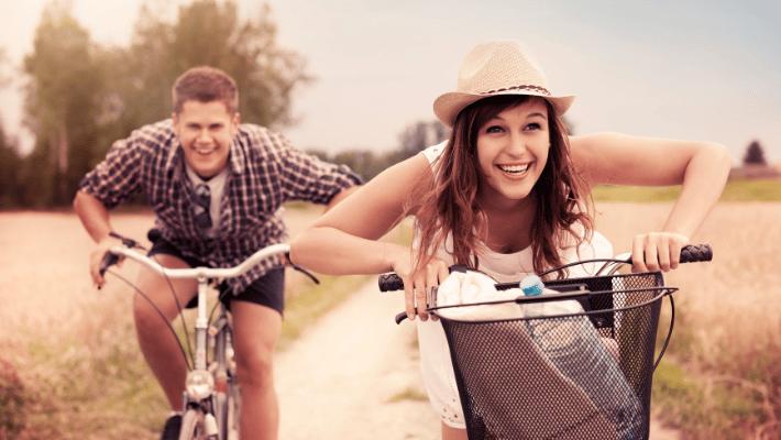 Friendship on bikes