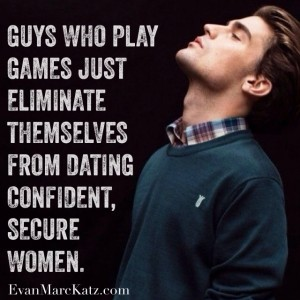 Guys who play games eliminate themselves