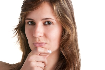 woman thinking about how to choose a partner