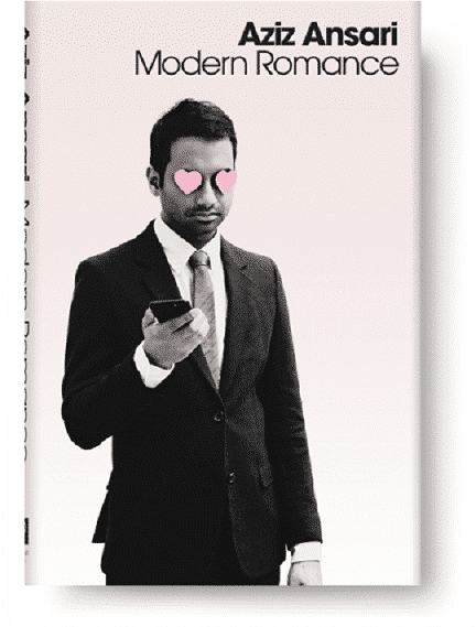 Aziz Ansari Book Cover