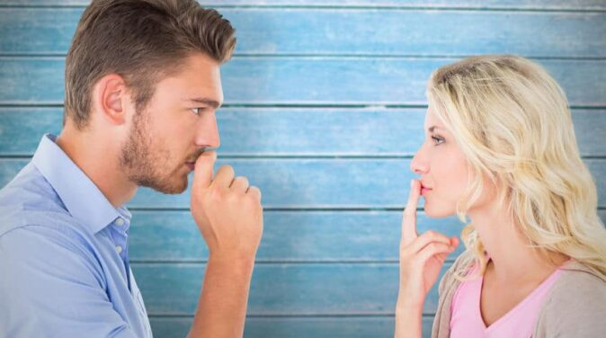 stop sharing private details in a relationship