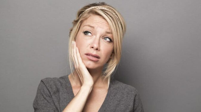 woman thinking of taking a break from a guy but keeping options open