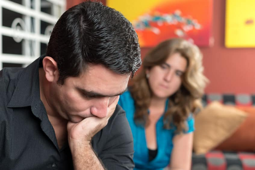 couple trying to solve their problems