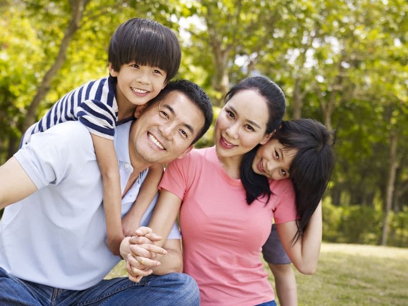 happy family happy life