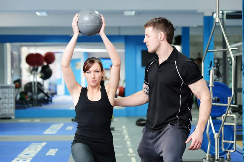 woman improving herself on doing some exercise to make her boyfriend get more attracted to her