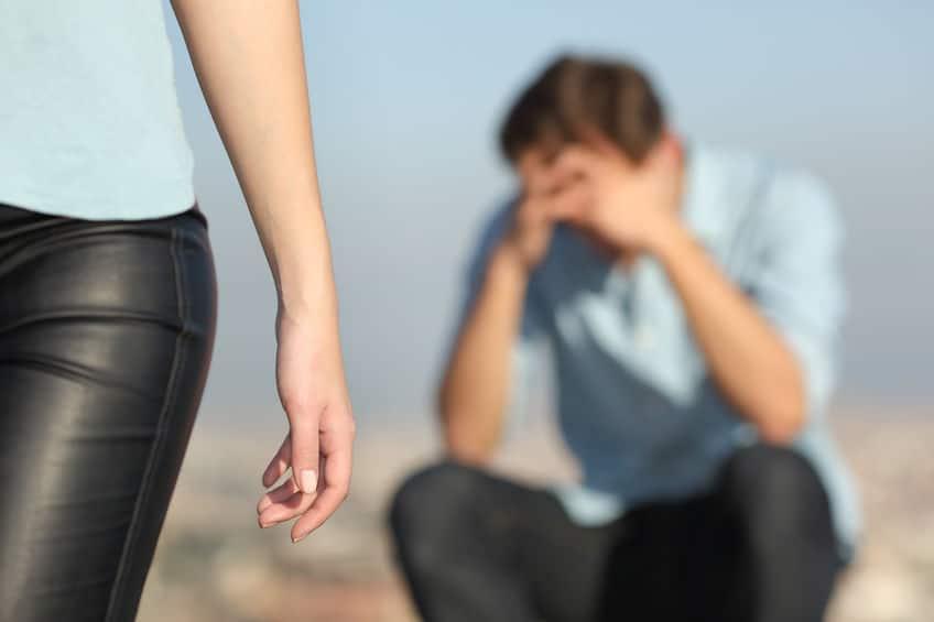 girlfriend breaking up with her boyfriend