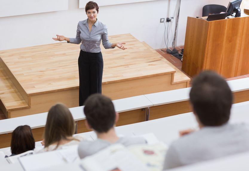 women teaching men