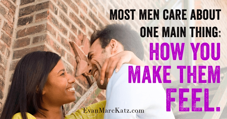 Make him feel Love U Pyramid of Love by dating coach Evan Marc Katz