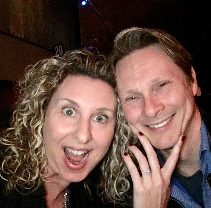 happy engagement proposal