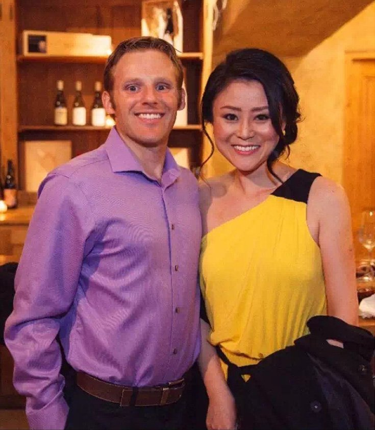 American guy with his Asian girlfriend