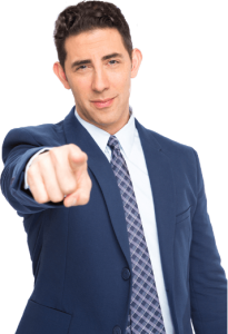 Evan Marc Katz pointing at you