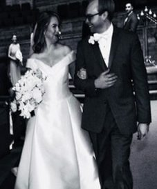 Love U success story of newly married couple walking down the aisle