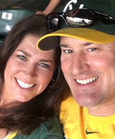 Love U success story of a happy couple taking a selfie