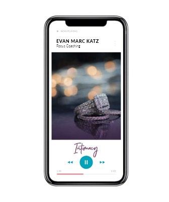 Dating Coach Evan Marc Katz Focus Coaching – Intimacy Playing on a phone.