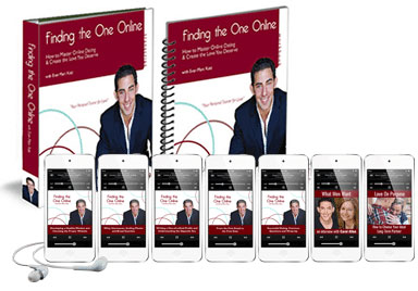dating coach Evan Marc Katz book finding the one online