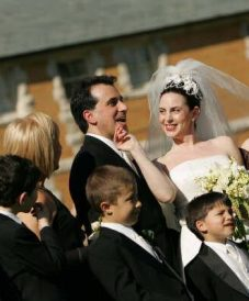 smart strong successful woman in her 30's gets married to an amazing man