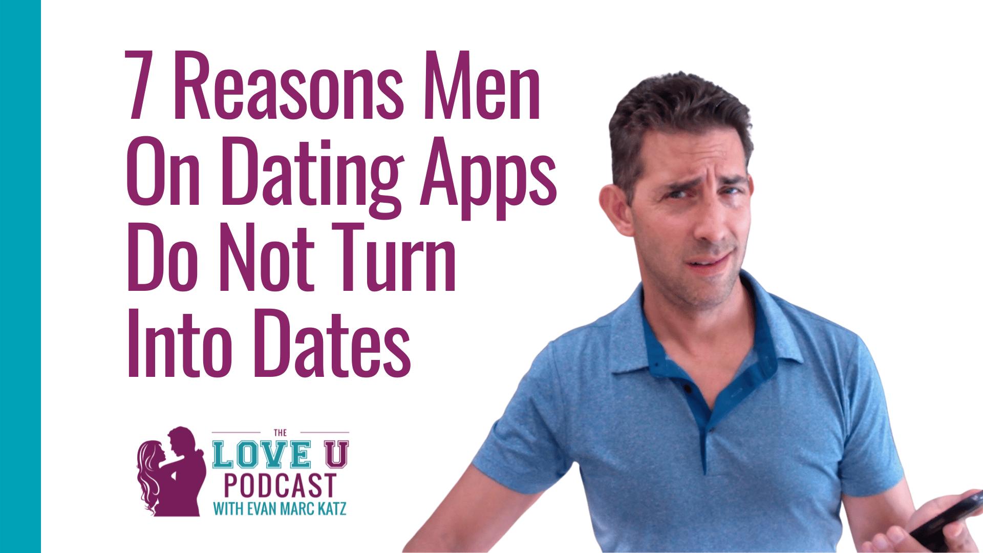 do guys on dating apps not write back